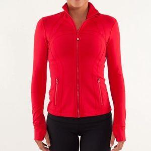 NWOT Lululemon Define Jacket (Red)